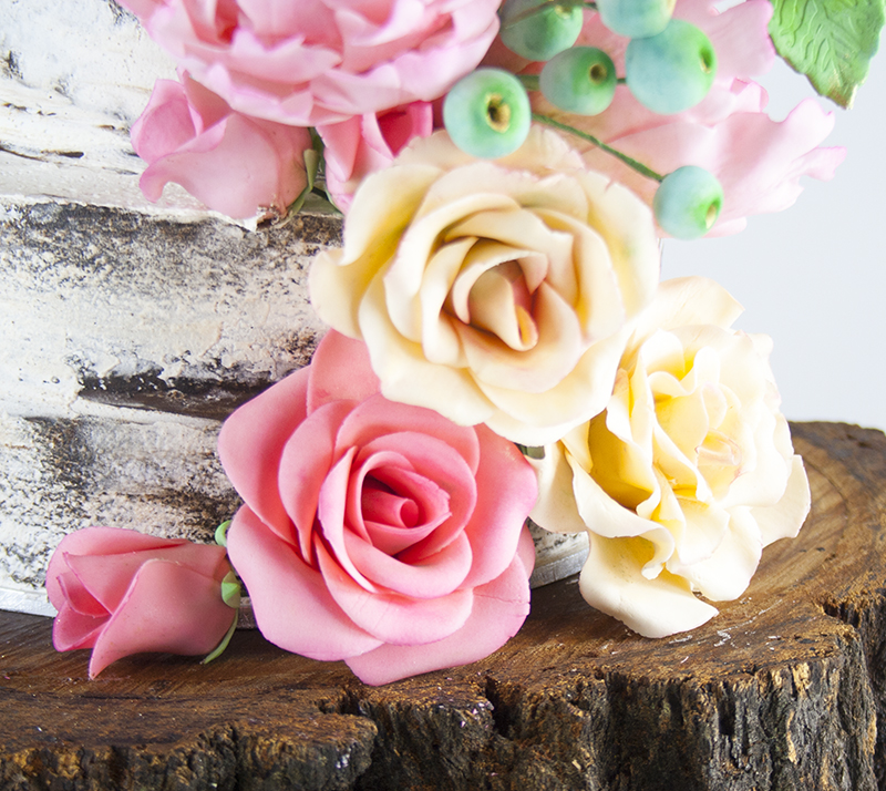 Sweet Cakes And Sugar Flowers